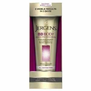 Jergens BB Body Skin Perfecting Cream, All Light Skin Tones