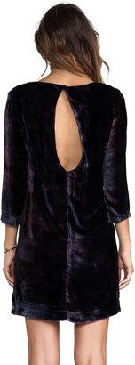 Gypsy 05 Velvet Long Sleeve Peephole Dress