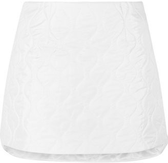 Miu Miu Quilted shell mini skirt