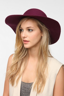 Urban Outfitters Staring At Stars Cross-Tie Floppy Felt Hat