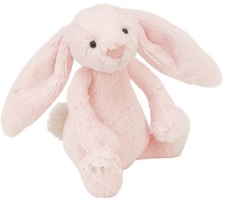 Jellycat Bashful Bunny Rattle Soft Toy, Pink