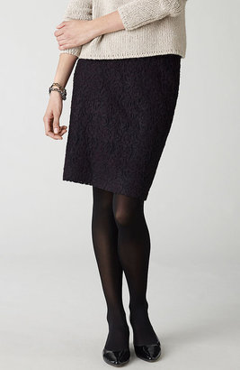 J. Jill Brushed lace skirt