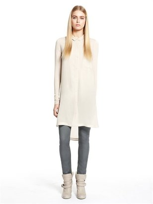 DKNY DKNYpure Button Thru Tunic Dress