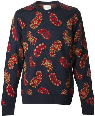 Obey 'Cliff' sweater