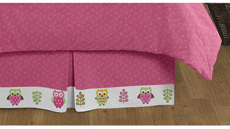JoJo Designs Sweet Happy Owl 4 Piece Twin Bedding Set