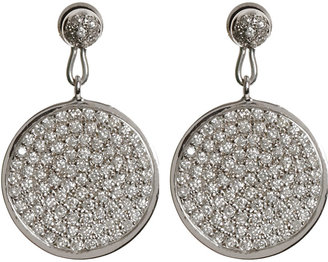 Ileana Makri Diamond Moon Earrings