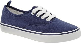 Old Navy Girls Uniform Canvas Sneakers