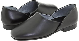 L.B. Evans Radio Tyme II (Black Leather) Men's Slippers