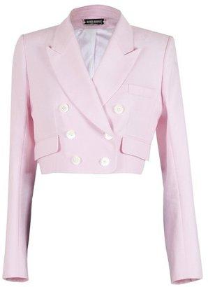 Alexis Mabille Pink Piqué Jacket