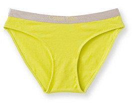 Calvin Klein Girls' 6-16 Chrome Bikini Panties