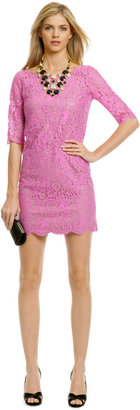 Robert Rodriguez Collection Peony Lace Shift