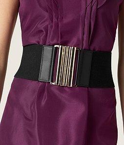 Ann Taylor Wide Elastic Webbing Belt