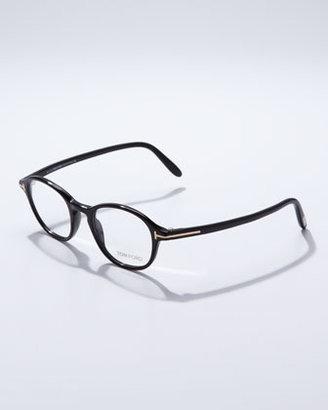 Tom Ford Round Frame Fashion Glasses, Black
