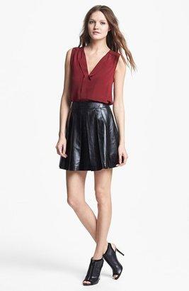 Mcginn 'Sydney' Faux Leather Skirt