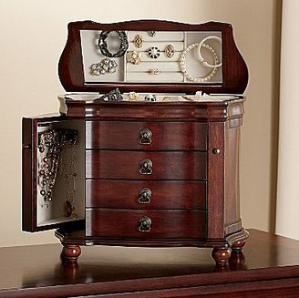 JCPenney Jewelry Box, Antique Walnut