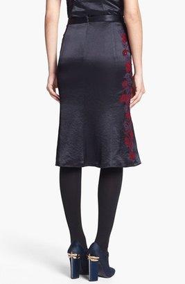Tory Burch 'Uma' Embellished Midi Skirt