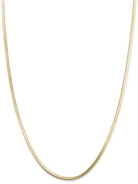 """Giani Bernini 18K Gold over Sterling Silver Necklace, 18"""" Snake Chain Necklace"""