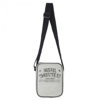 Diesel Gray Jersey Bag