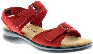 Spring Step Flexus by Danila Leather Quarter-Strap Sandals