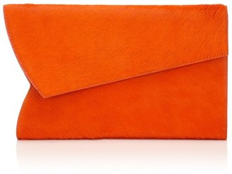 J.W.Anderson Orange Calf Suede Grab Bag