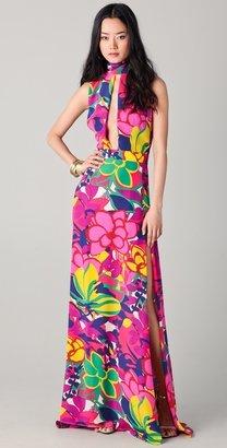 DSquared Dsquared2 Keyhole Maxi Dress
