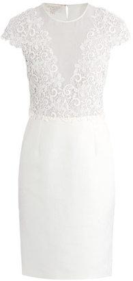Giambattista Valli Lace top fitted dress