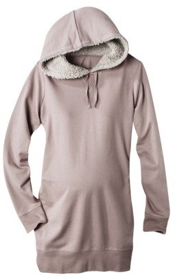 Liz Lange for Target® Maternity Long-Sleeve French Terry Hooded Sweatshirt - Assorted Colors