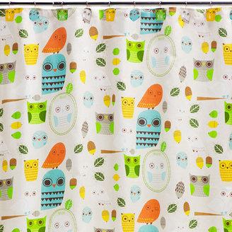 Bed Bath & Beyond Creative Bath Give A Hoot Cotton Shower Curtain