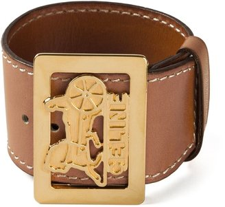 Céline Pre Owned 1980s Pre-Owned Buckled Cuff