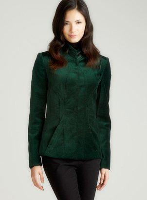 Elie Tahari Perry Str Velvet Jacket