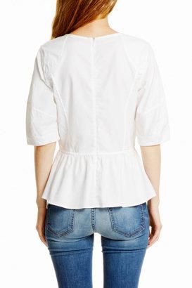 Rebecca Minkoff Short Sleeve Jupiter Top