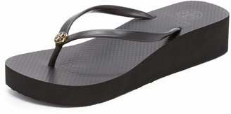 Tory Burch Wedge Thin Flip Flop $65 thestylecure.com