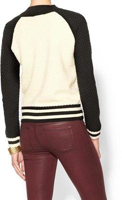 Havaianas Rhyme Los Angeles Clara Sweater Bomber Jacket