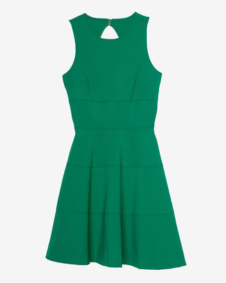 Intermix Exclusive For Seamed Flare Dress
