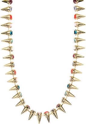 Asos Multi Spike Collar Necklace