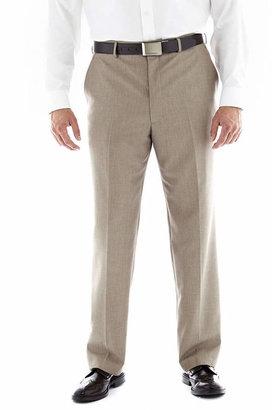 Jf J.Ferrar Men's JF End on End Flat-Front Big & Tall Suit Pants