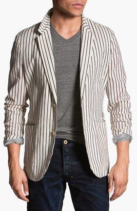 Scotch & Soda Stripe Cotton Blazer