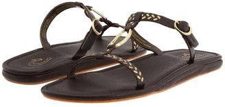 OluKai Waiakoa W (Dark Java/Dark Java) - Footwear