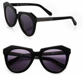 Karen Walker Number One Plastic Sunglasses