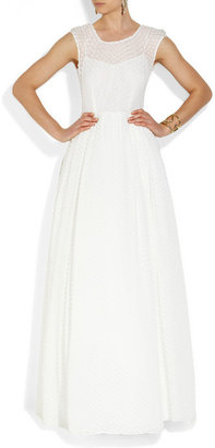 J.Crew Carenna silk and cotton gown