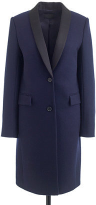 J.Crew Collection tuxedo topcoat