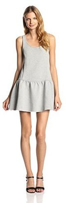 Autograph Addison Women's Terry Drop-Waist Tank Dress