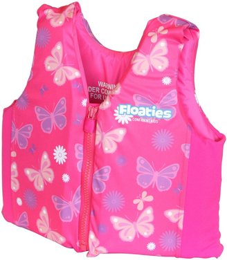 Floaties The Original Swim Vest Pink Flowers - Medium