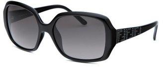 Fendi Women's Rectangle Black Sunglasses