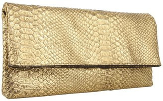 Juicy Couture Snake Embossed Leather Jade (Gold Snake) - Bags and Luggage