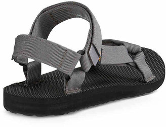 Teva Men's Original Universal Sandal -Black/Grey Stripe
