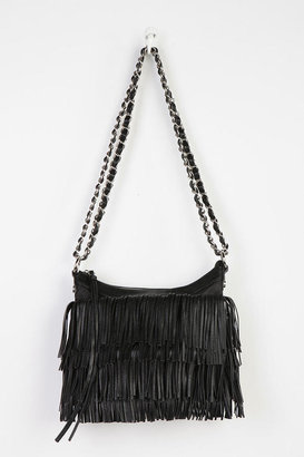 Urban Outfitters Deena & Ozzy Fringe Convertible Crossbody Bag