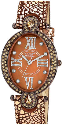 Badgley Mischka Oval Case Watch