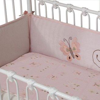 Lambs & Ivy fawn crib sheet