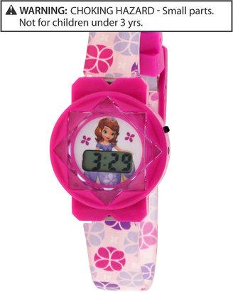 Disney Kids Watch, Girls or Little Girls Sofia the First LCD Watch